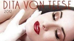 Dita Von Teese Calendario 2012 Ufficiale